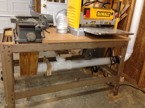Workshop Dust Collection System #1: Workshop Dust Collector - by grumpybear7357 @ LumberJocks ...