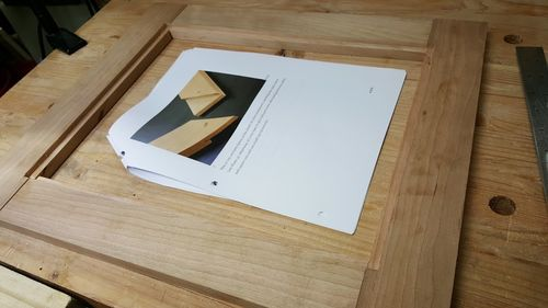 Picture Frames Mitered Half Lap Joints 4 Routed Rabbets And Hand