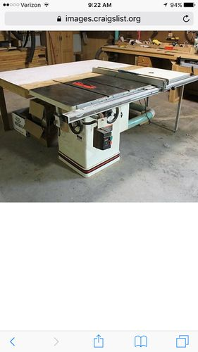 Powermatic Table Saw On Craigslist By Jtp79 Lumberjocks Com Woodworking Community
