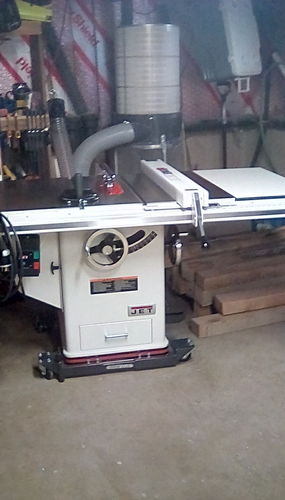 New Jet Table Saw Up And Running By Clk51212 Lumberjocks