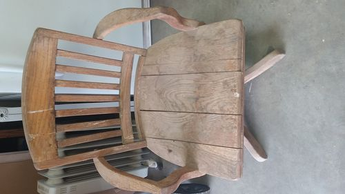 Refinishing #1: Antique Oak Office Chair