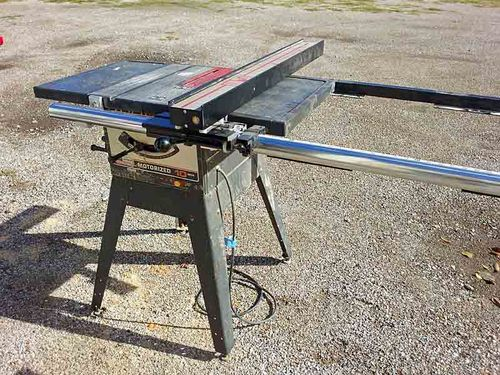 Craftsman table saw replacement fence by asy lumberjocks handcrafted by mike henderson channelview texas greentooth Image collections