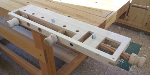 Milkman's workbench as replacement top for Workmate? - by ...