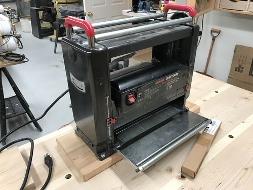 Fs Craftsman 12 1 2 Quot Thickness Planer By Tungoil
