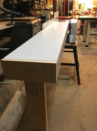 Awesome Jointer Outfeed Extension By Don Stephenson Lumberjocks Ocoug Best Dining Table And Chair Ideas Images Ocougorg