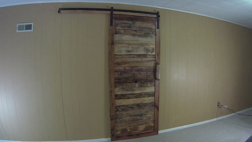 How To Make An Up Cycled Pallet Wood Sliding Barn Door
