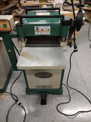 for sale: grizzly g0453z planer, located in denver, co - by marcus ...