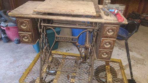 Pleasing Singer Sewing Machine Treadle Conundrum By Wseand Download Free Architecture Designs Xaembritishbridgeorg