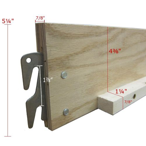 Installing metal hooks for bed rails by bluephi