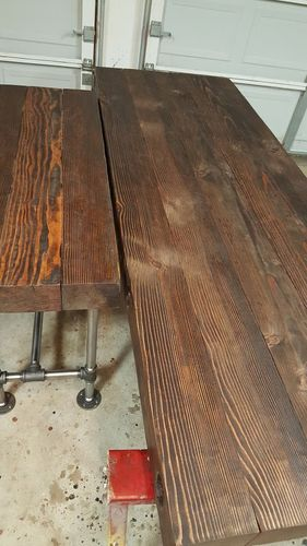 How Do I Fix 'Graying' On Newly Stained Wood? - By Dannen