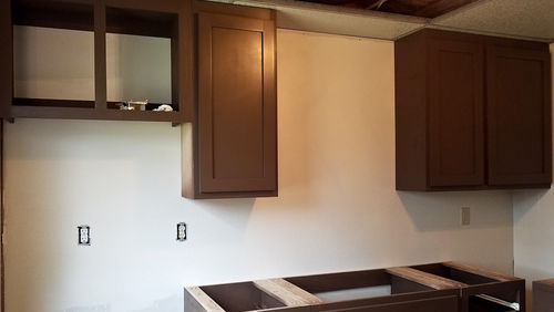 Plywood Choice On Built In Cabinets By Amkirkland