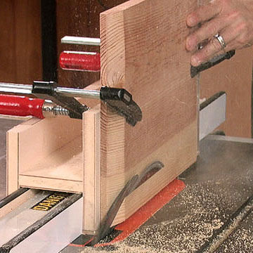 Tenoning Jig Cutting Angles On Plywood Sheets Of More