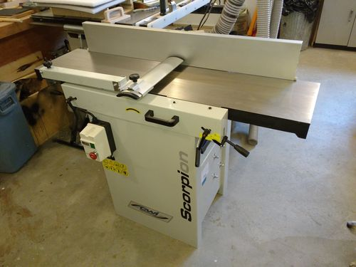 Review Scorpion 12 Helical Jointer Planer By Andre Lumberjocks Com Woodworking Community