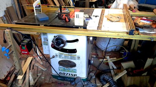 Fence system for grizzly table saw by seturner lumberjocks incra 32 greentooth Gallery