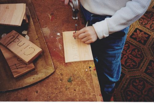 hammer nails in hardwood five projects to help kids learn the craft of nailing by jack