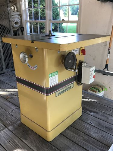 Powermatic Model 24 Shaper- Anyone have Experience? - by TungOil