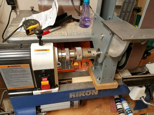 Sharpening Lathe Tools With A Belt Sander By Landryj88