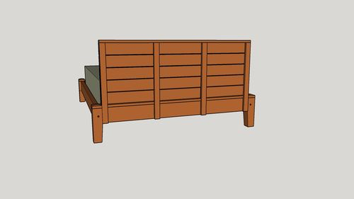 Basic Bed Frame 1 A Bed Time Story by EarlS LumberJockscom