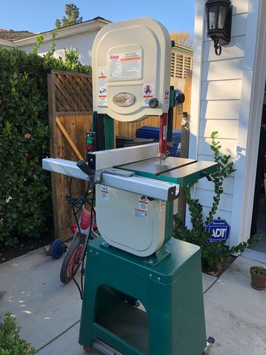 Bandsaw For Sale Grizzly 14 Deluxe Bandsaw G0555lx Los
