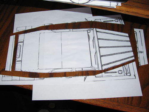 Making Wooden Model Plans #2: Using the plans to figure out the ...