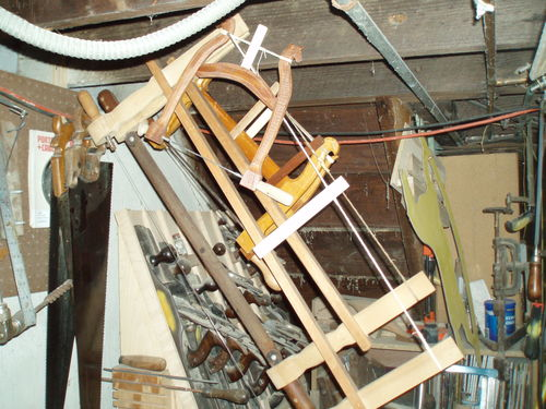Frame Saws 1 Sawing Logs With A Frame Saw By Lazy K