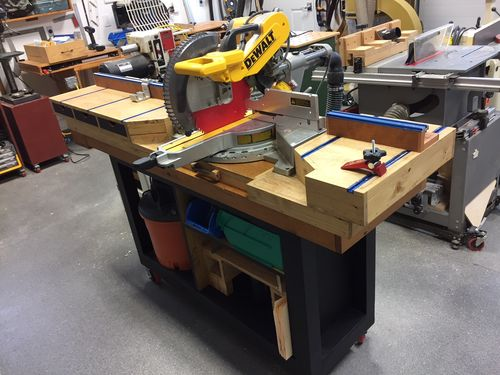 Review Very Pleased With The Dewalt Dws779 Sliding Compound Miter Saw By Garageking
