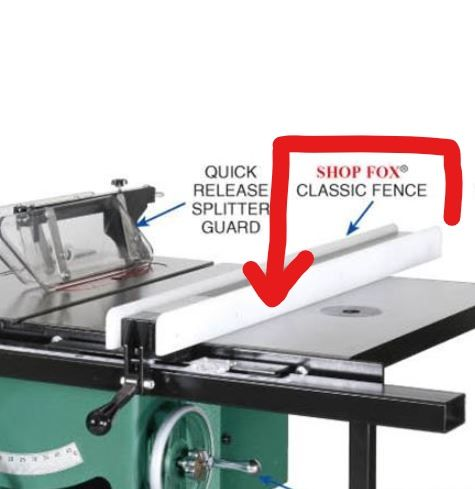 Recomendationspictures needed of multi track or other installed i have done a little searching but cant decide on what brandtype of multi track fence to install on the right side of my new grizzly table saw with greentooth Images