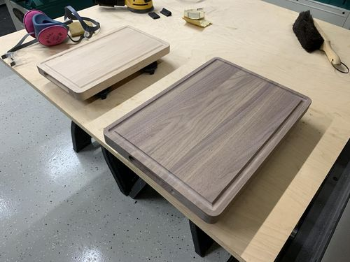 Mineral Spirits To Clean Dust Off Cutting Boards By Eddit