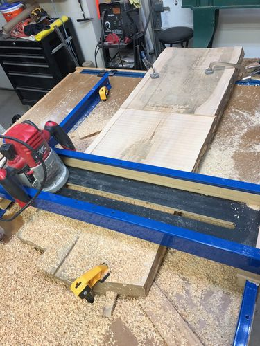 Random Shop Jigs And Projects 1 Slab Flattening Router