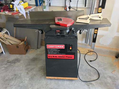 Dust Collection For Newer Craftsman Jointer By Dannyw Lumberjocks Com Woodworking Community