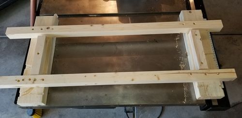 Miraculous Modified Paulk Workbench 2 Got All The Initial Cuts Down Gmtry Best Dining Table And Chair Ideas Images Gmtryco