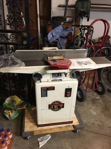 Looking At A Used Jet 708457k Jj 6csx 6 Inch 1 Hp Jointer