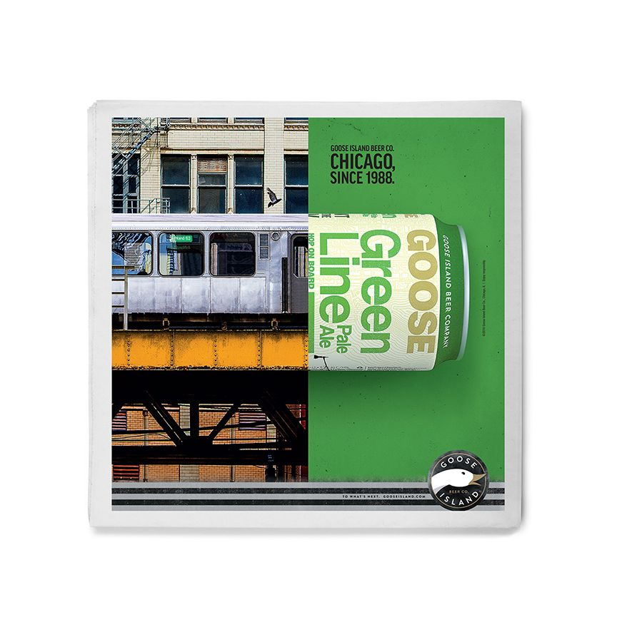 Goose Island Green Line Pale Ale ad image