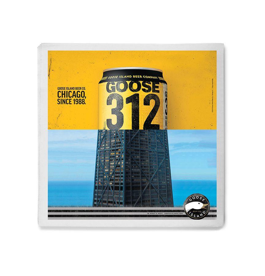 Goose Island 312 ad image
