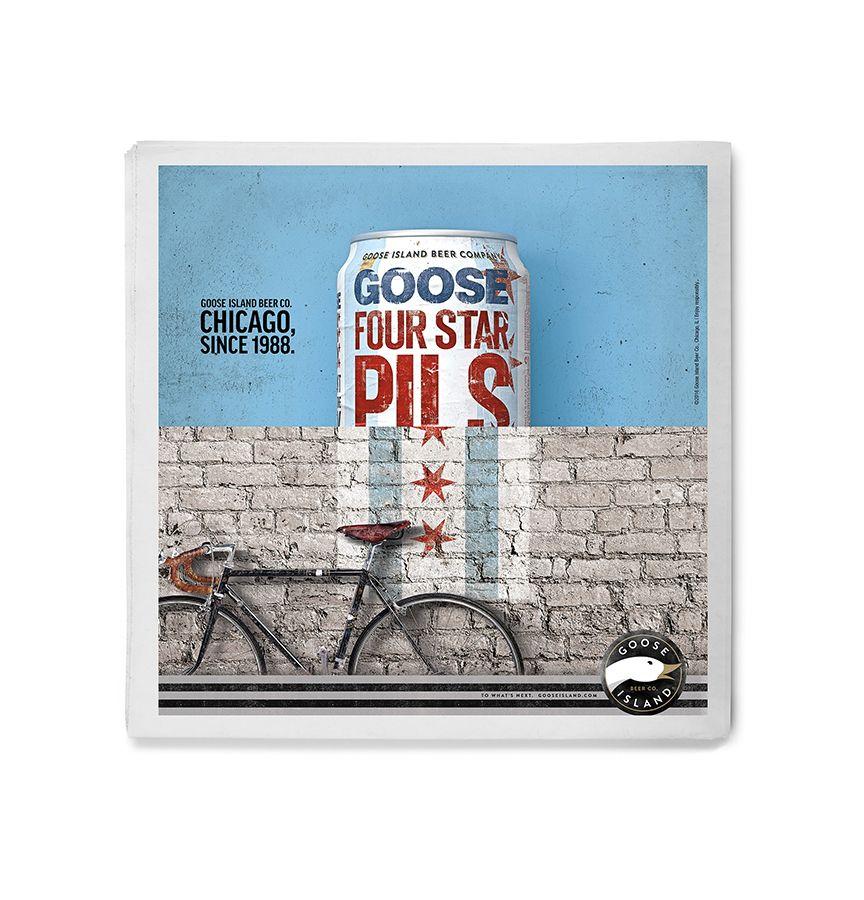 Goose Island Four Star Pils ad image