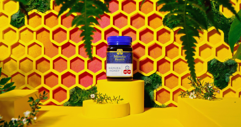 Jar of Manuka honey