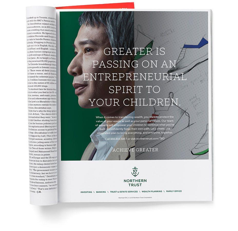 Northern Trust Print Ad