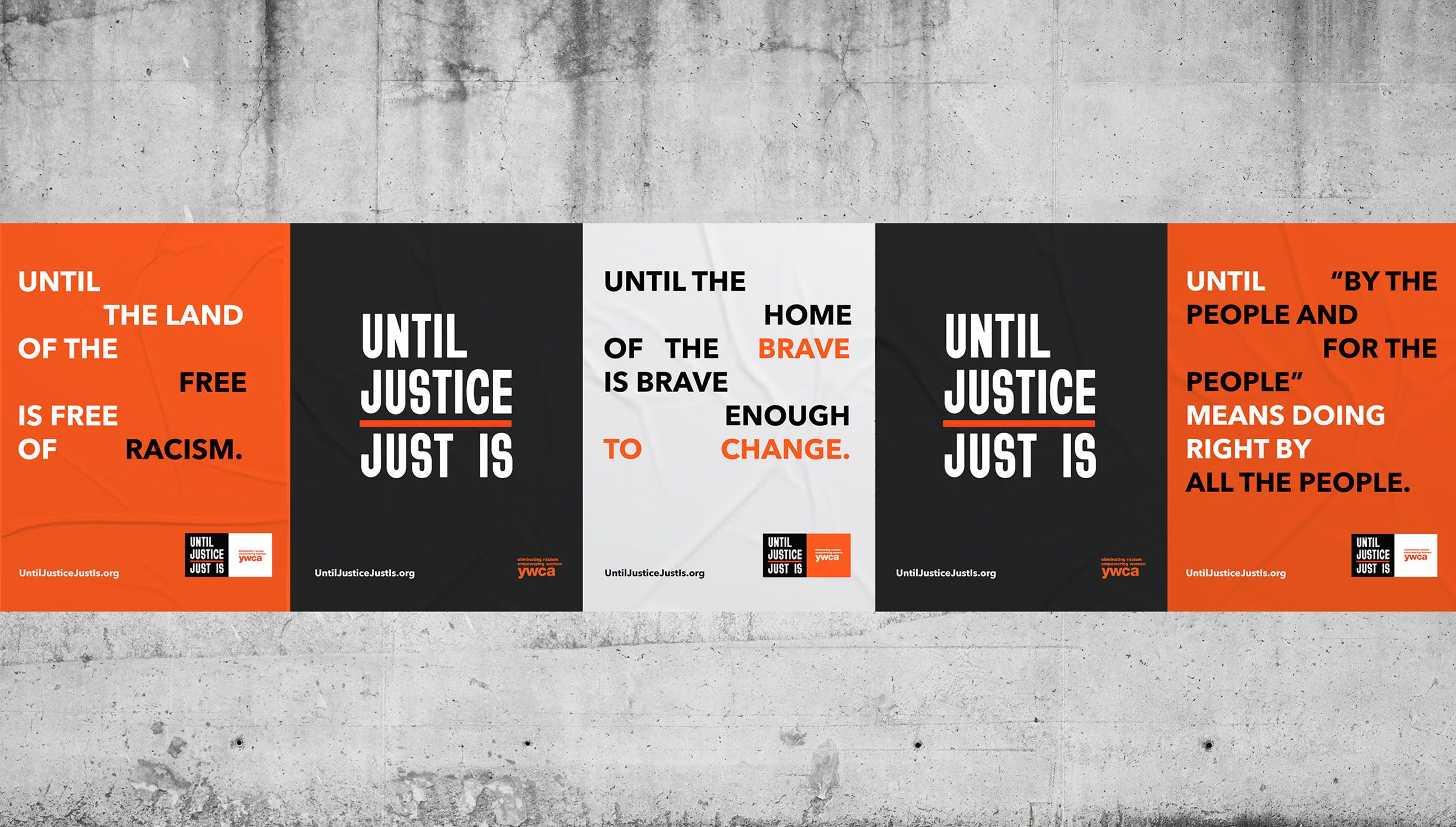 Until Justice Just Is poster designs