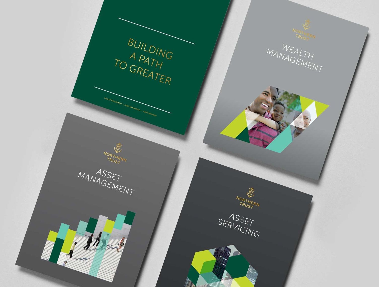 """""""Building a Path to Greater"""" brochure covers"""
