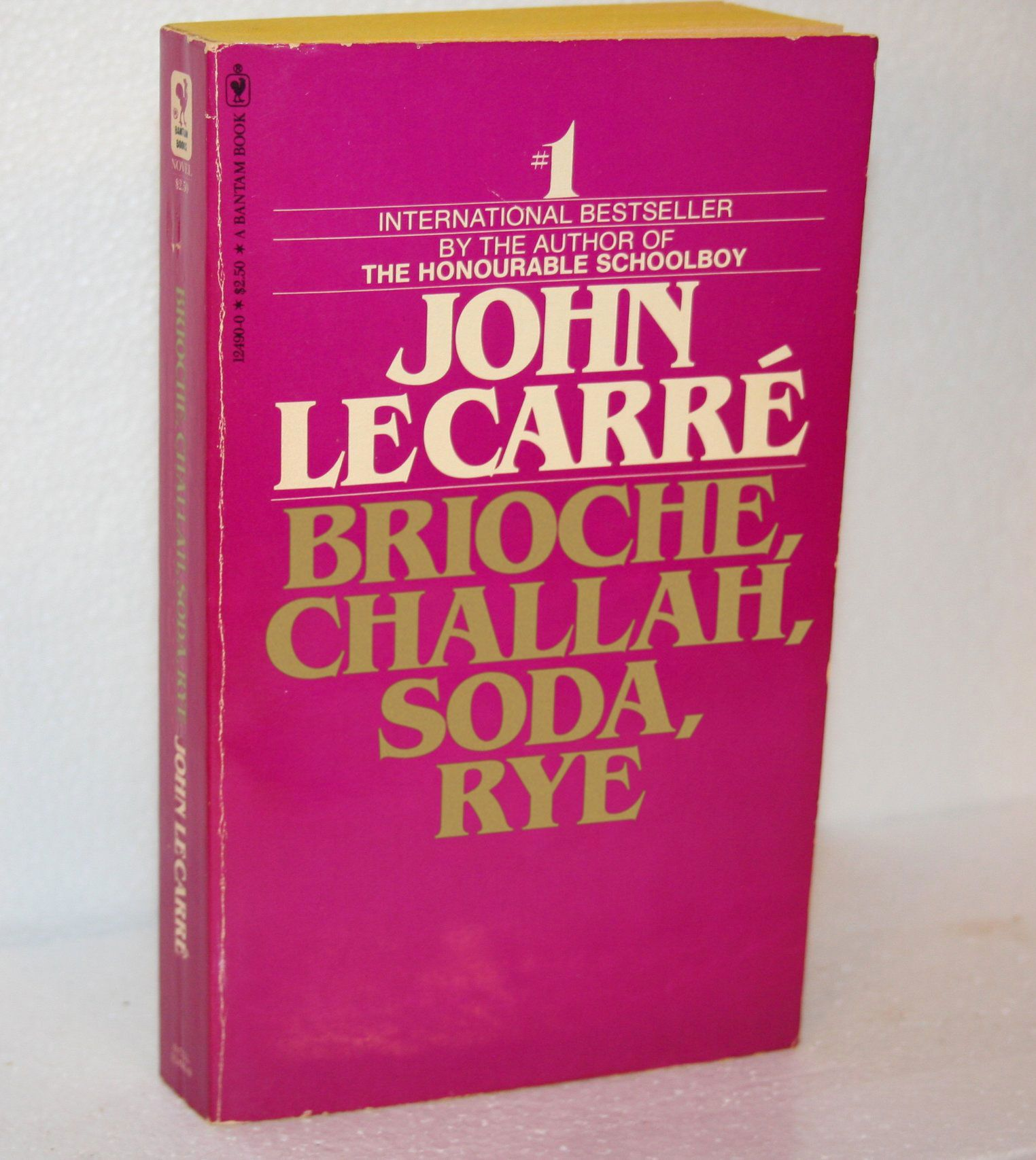 Brioche, Challah, Soda, Rye (Tinker, Tailor, Soldier, Spy, by John le Carré)