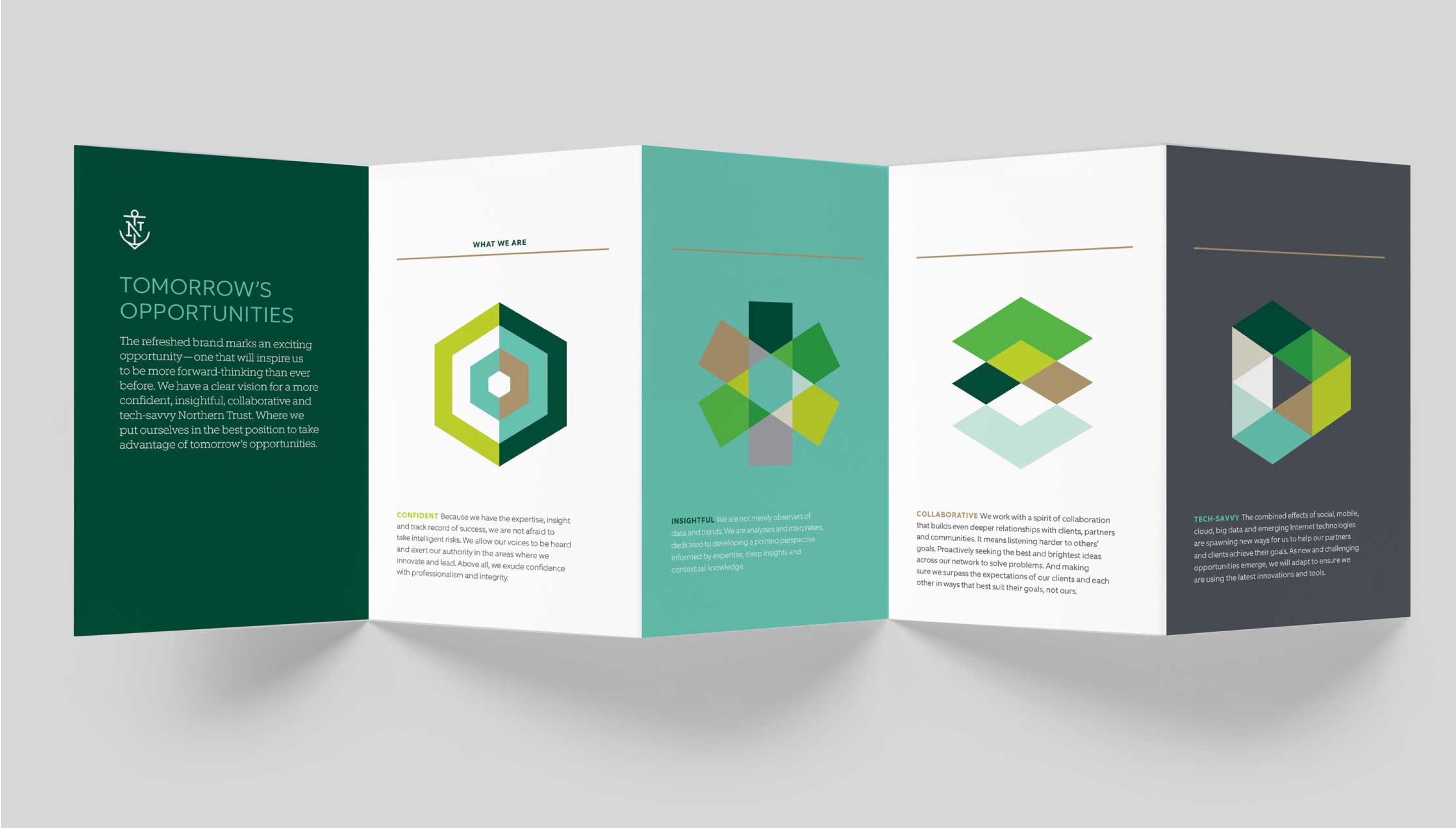 Northern Trust interior brochure layout