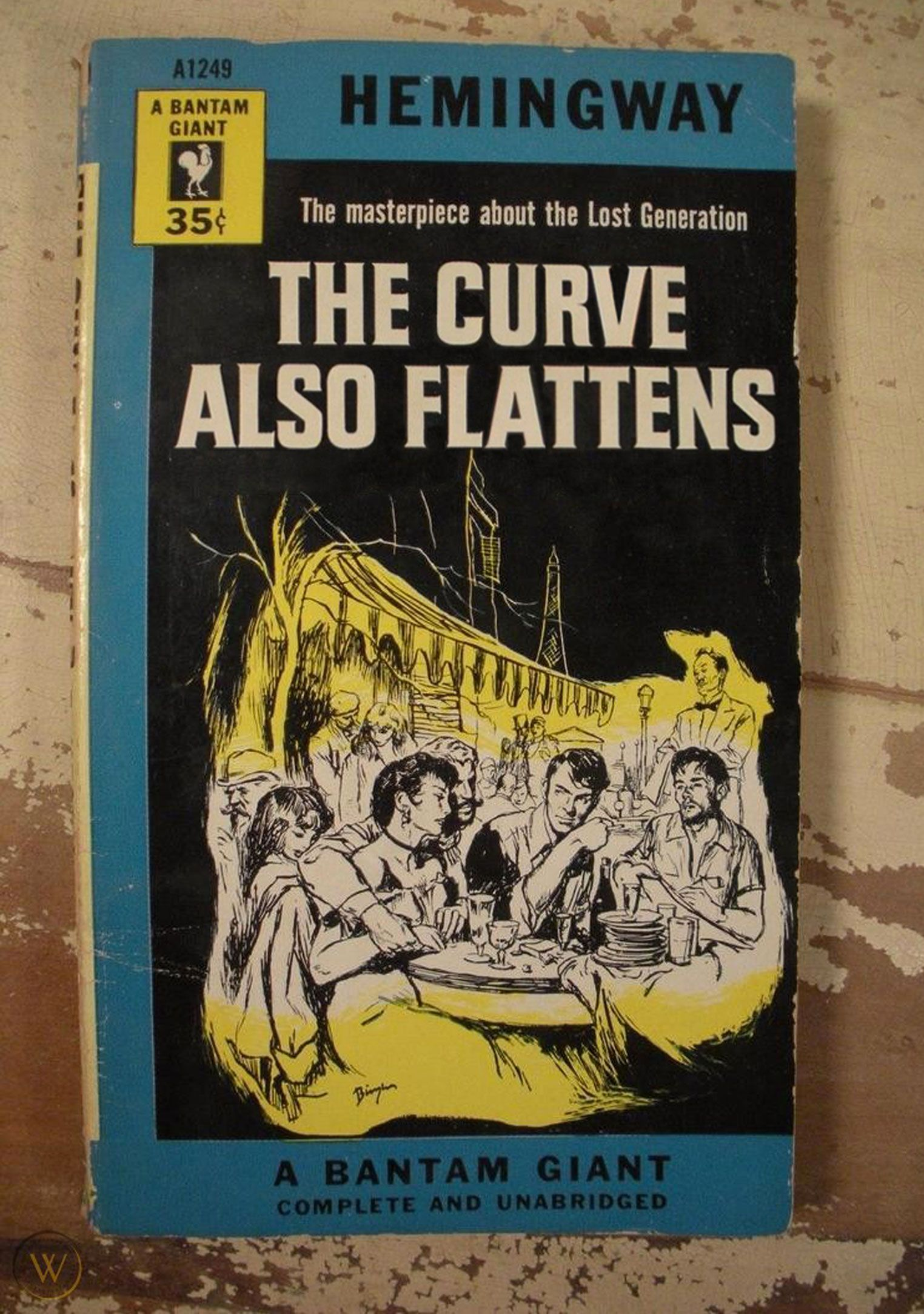 The Curve Also Flattens (The Sun Also Rises, by Ernest Hemingway)