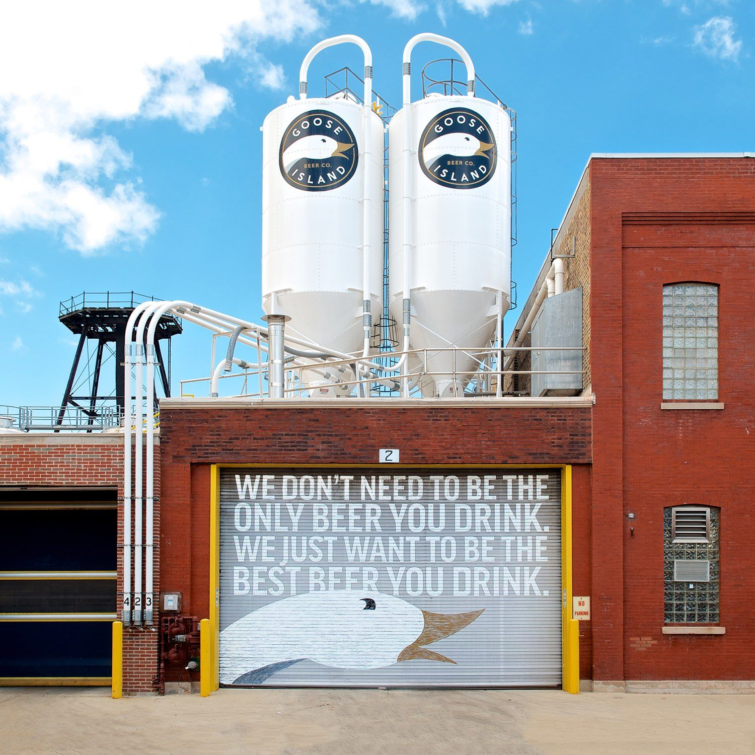 Goose Island brewery exterior