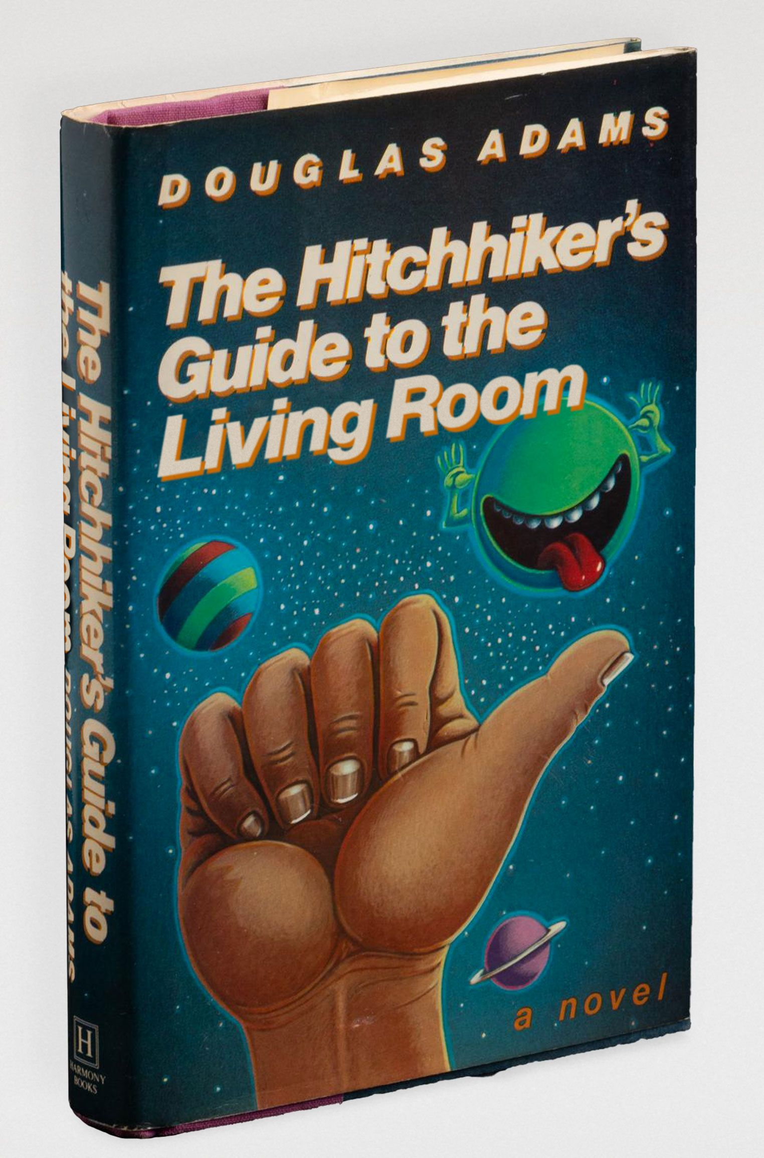 The Hitchhiker's Guide to the Living Room (The Hitchhiker's Guide to the Galaxy, by Douglas Adams)