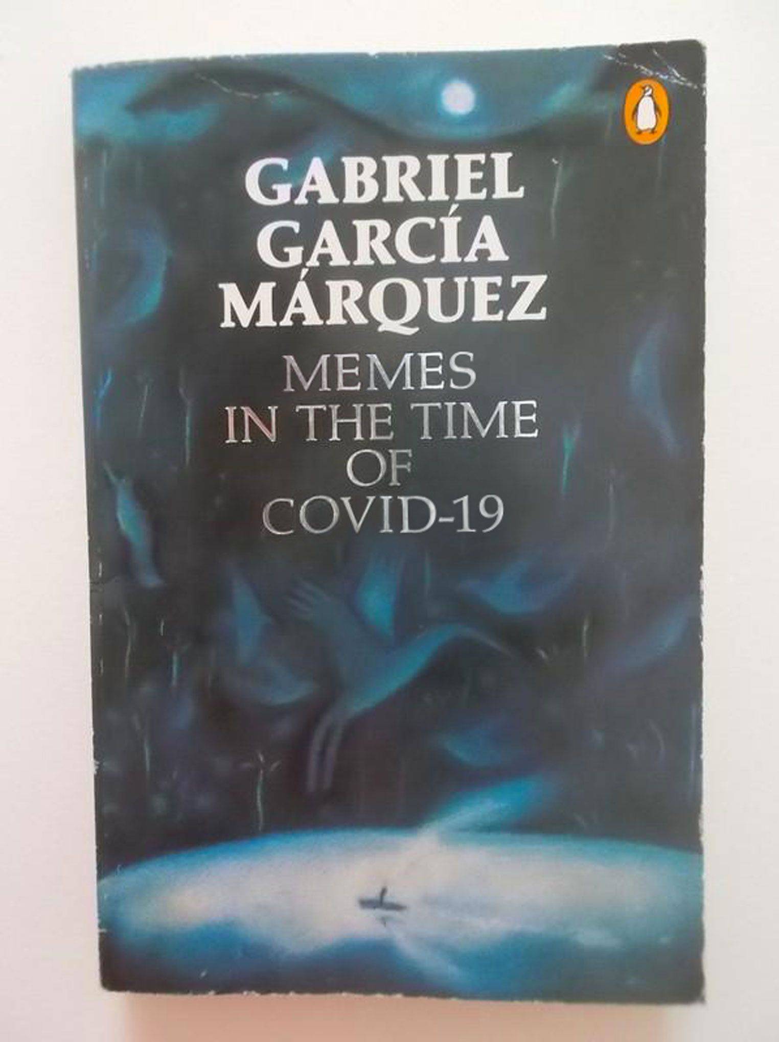 Memes in the Time of COVID-19 (Love in the Time of Cholera, by Gabriel Garcia Marquez)