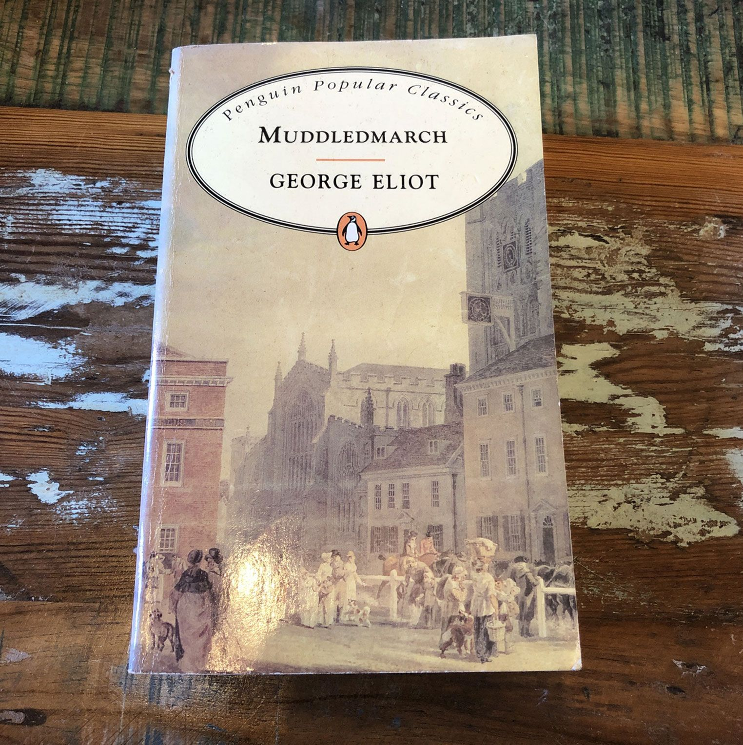 Muddlemarch (Middlemarch, by George Eliot)