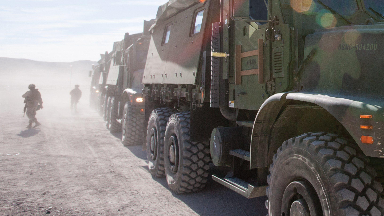 Oshkosh Defense vehicle