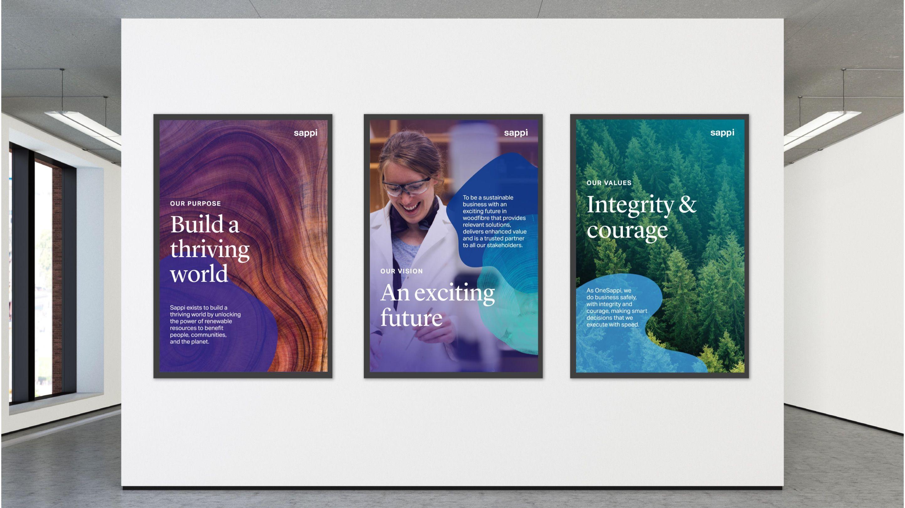 Sappi Poster Designs