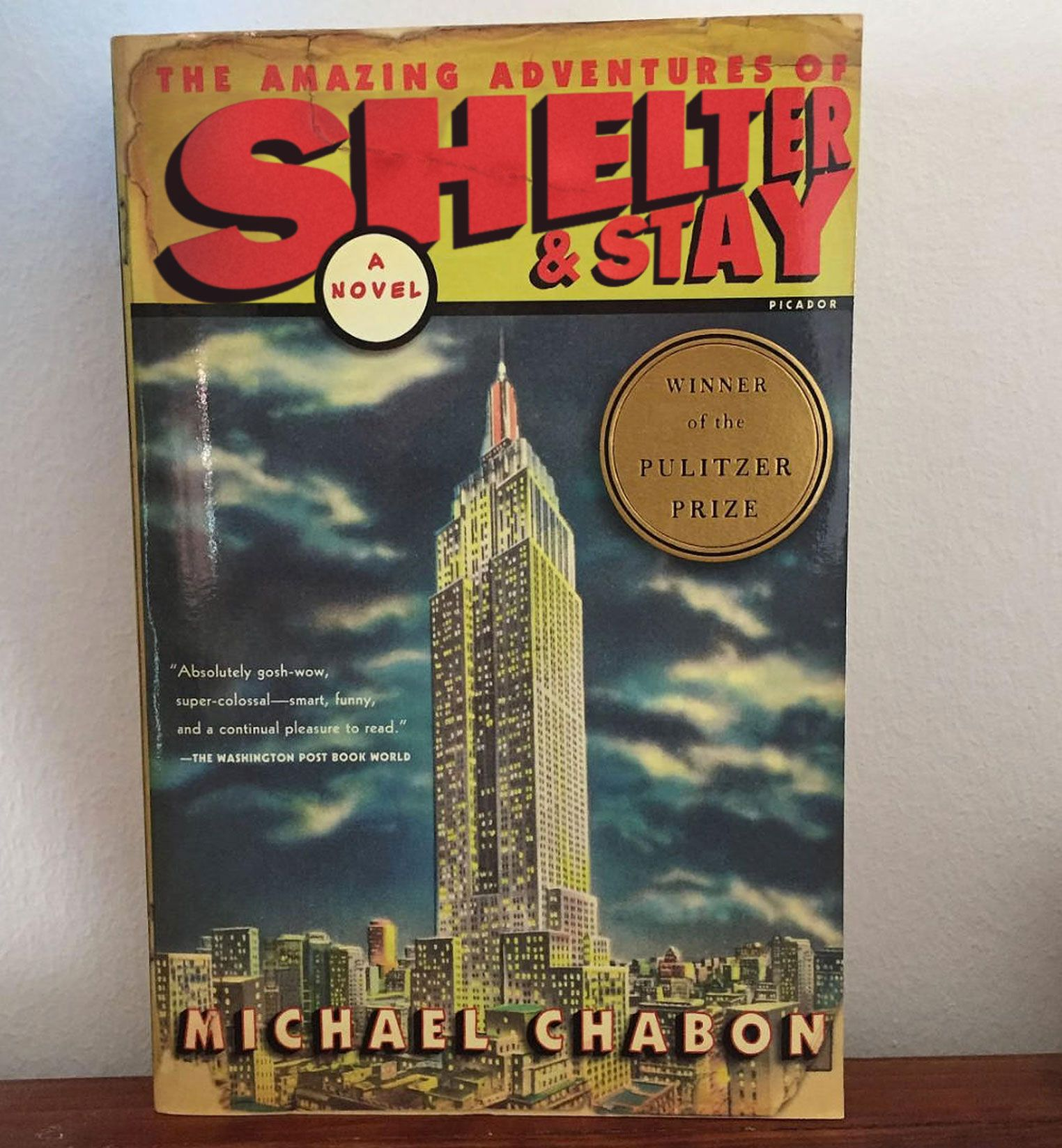 The Amazing Adventures of Shelter & Stay (The Amazing Adventure of Kavalier & Clay, by Michael Chabon)