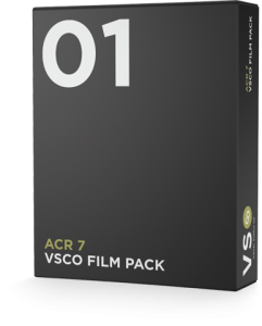 VSCO FILM 01 for Adobe Camera Raw 7 (CS6)